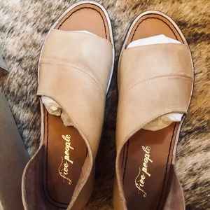 Free People Mont Blanc Sandals - Leather